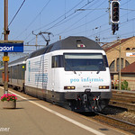Re 465 056 `Pro Infirmis` in Burgdorf, P9030181-1
