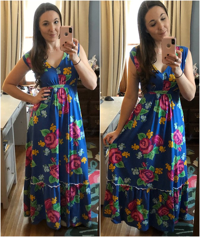 mjc floral tank maxi dream weaver maxi dress
