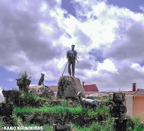 homenaje al pastor, aldeadavila de la ribera