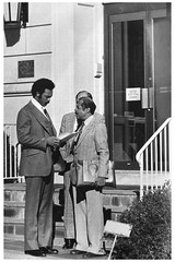 Jesse Jackson at South African Embassy: 1979