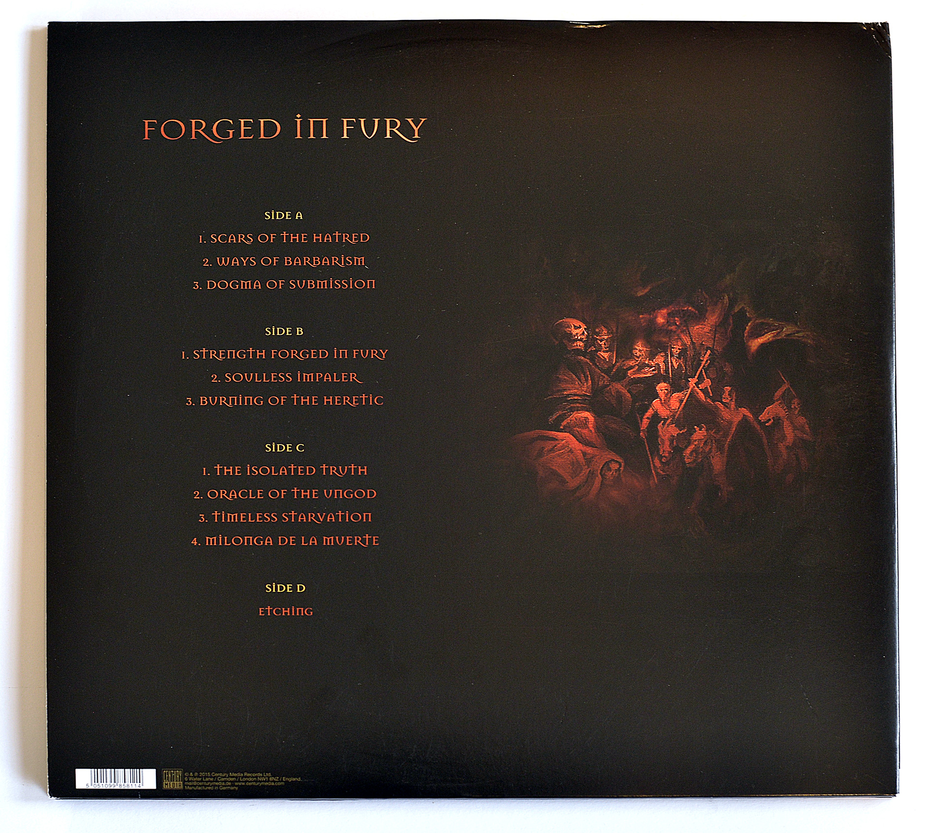 Krisiun Forged in Fury 2LP
