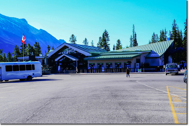 Banff Gondola Lower terminal 1