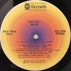 RUFUS:RUFUS(LABEL SIDE-B)