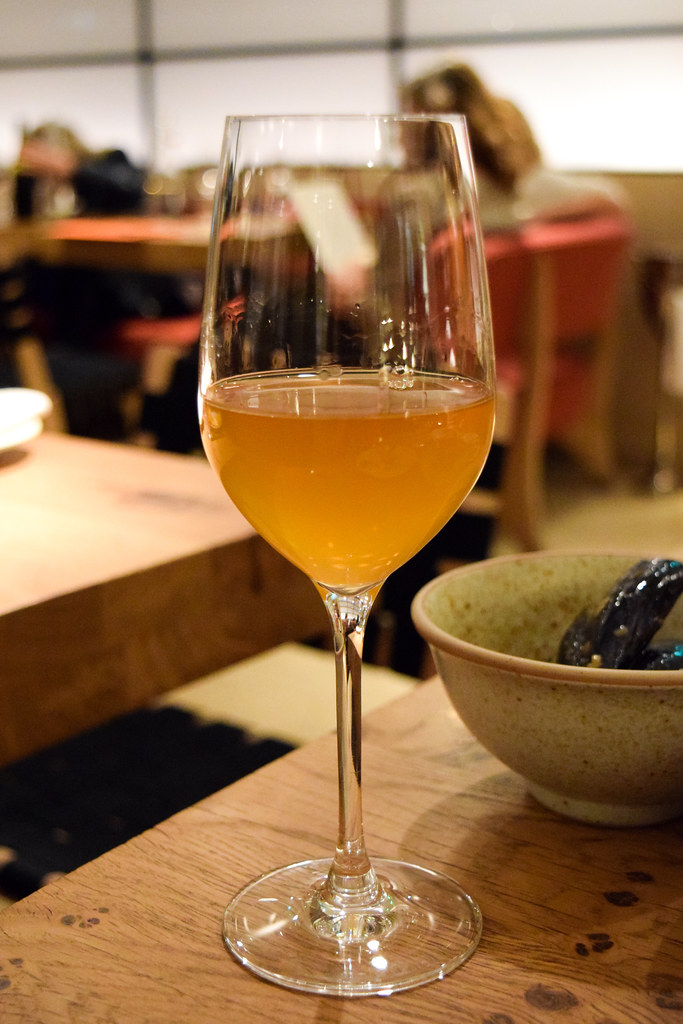 Orange Wine at Rovi, Fitzrovia