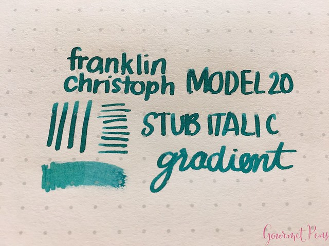 Franklin-Christoph Model 20 Fountain Pen Review 34