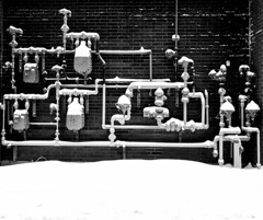 Snow Capped Pipes (Montreal)