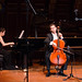 Cellist Tony Rymer with pianist Jung-A Bang