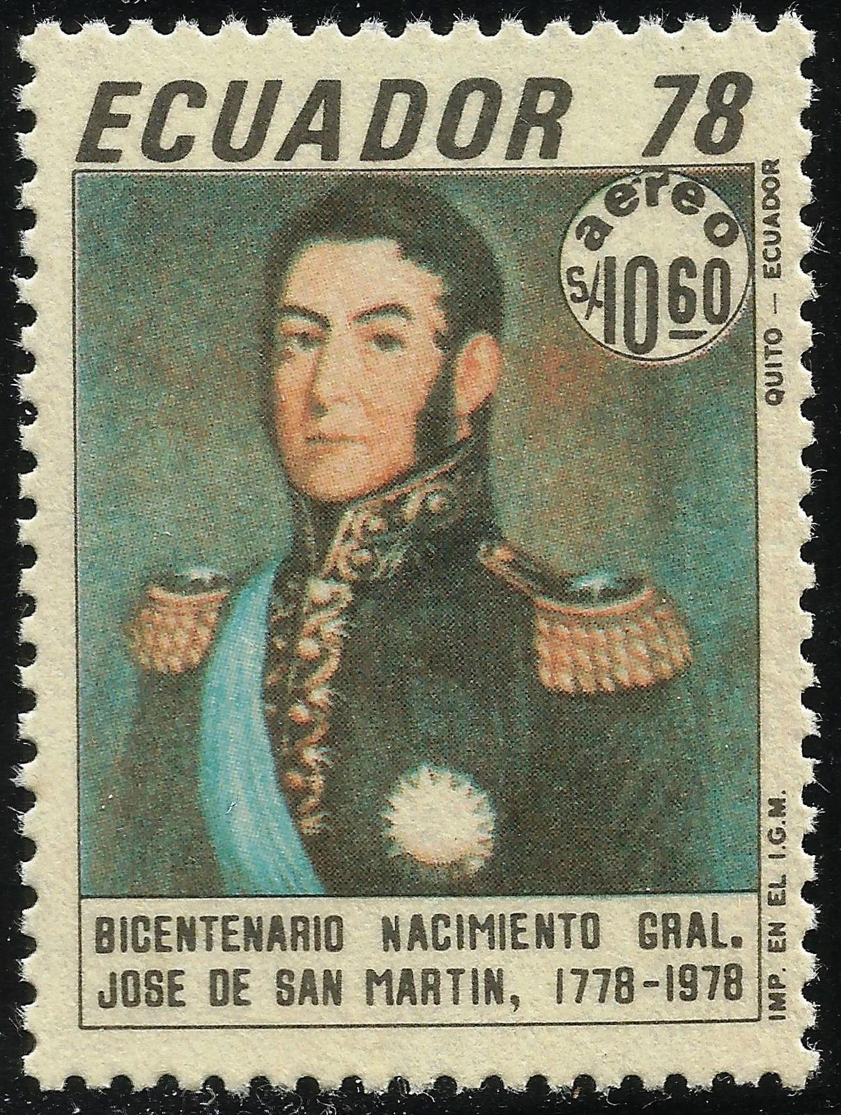 Ecuador - Scott #C624 (1978)
