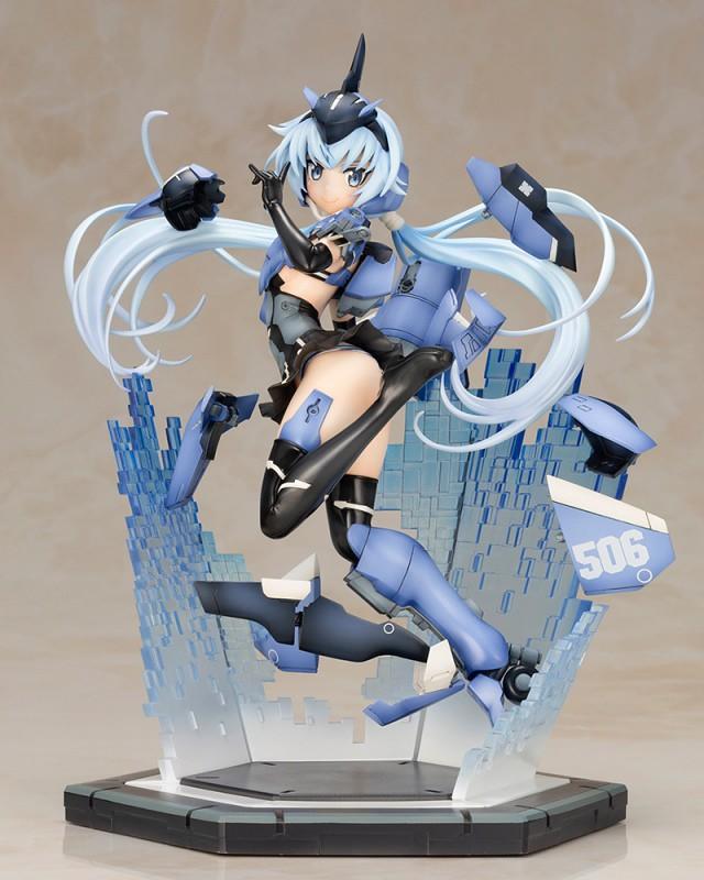 壽屋《Frame Arms Girl 骨裝機娘》史蒂蕾特 -SESSION GO!!-(フレームアームズ・ガール スティレット -SESSION GO!!-)PVC塗裝完成品