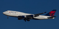 N661US - Boeing 747 - Delta Airlines