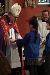 Schools welcome Bishop Robert