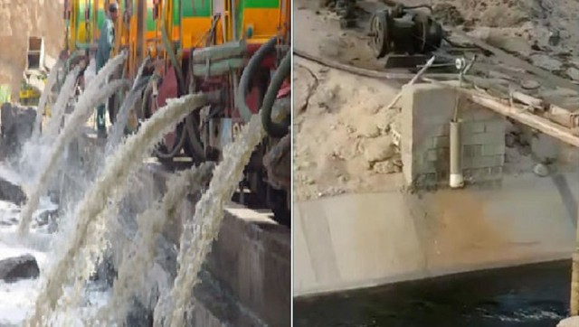 3529 A gang arrested selling drinking water taken from sewage canal in Jeddah