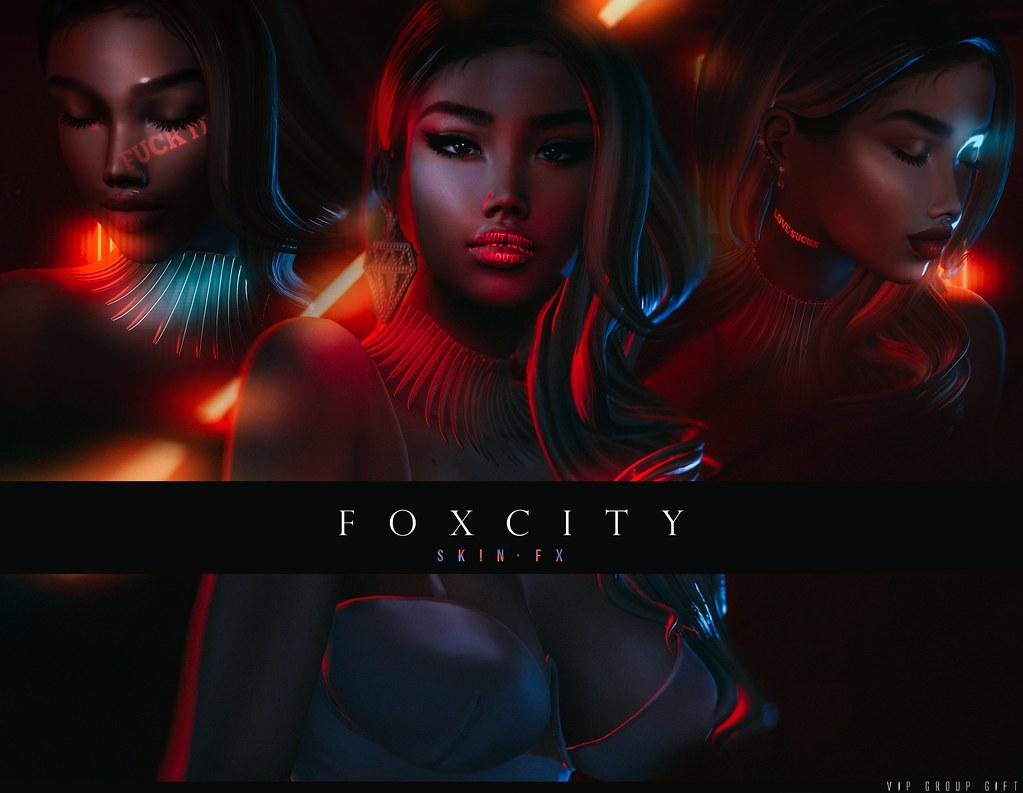 FOXCITY. VIP - SkinFX Face Projectors - TeleportHub.com Live!