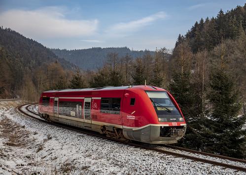Deutsche Bahn DB 641 020 Neu-Leibis 23 Januari 2019