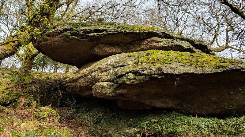 Shaptor Rock outcrops