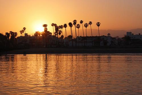 Sterns Wharf Sunset - Santa Barbara, California