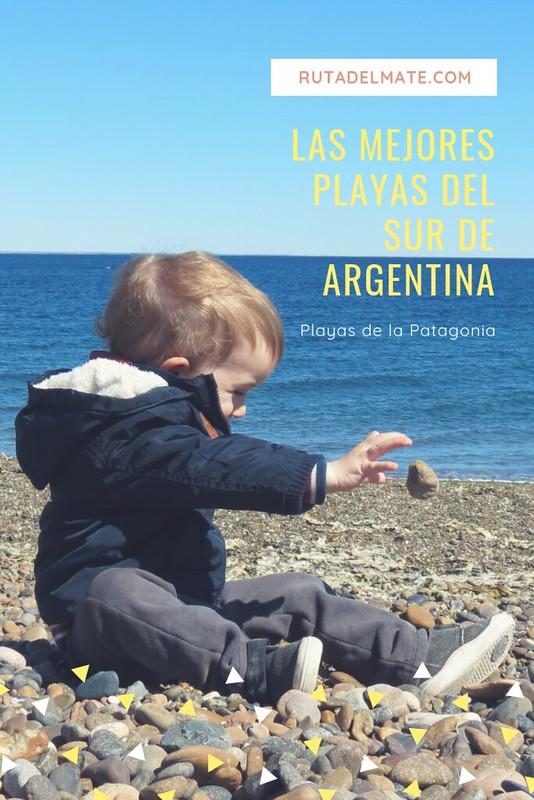 Mejores playas del sur de Argentina