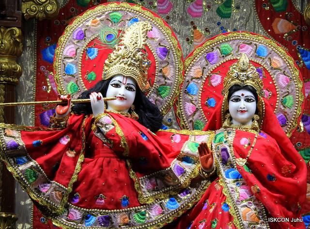 26 Feb 2019 Mangala Aarti Darshan ISKCON Juhu