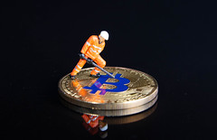 Worker mining for Bitcoin