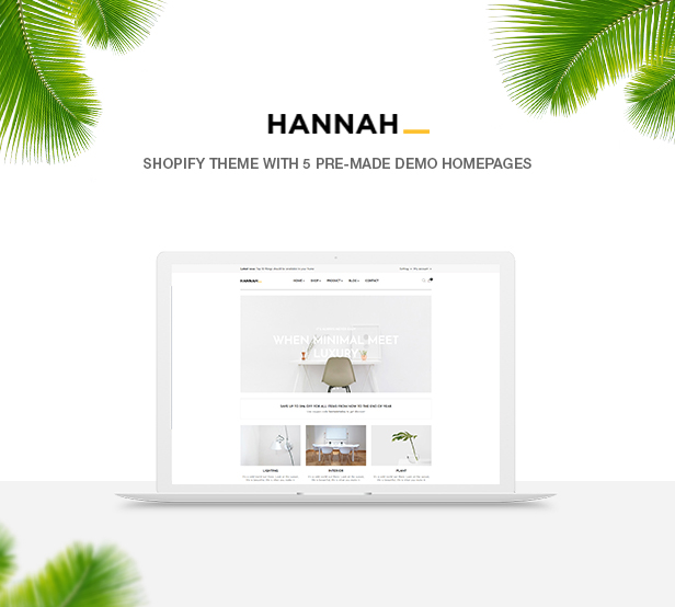 Ap Hannah for furniture store, interior store and multiple stores, nice design