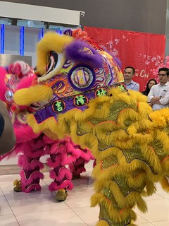 Lion Dance at Office