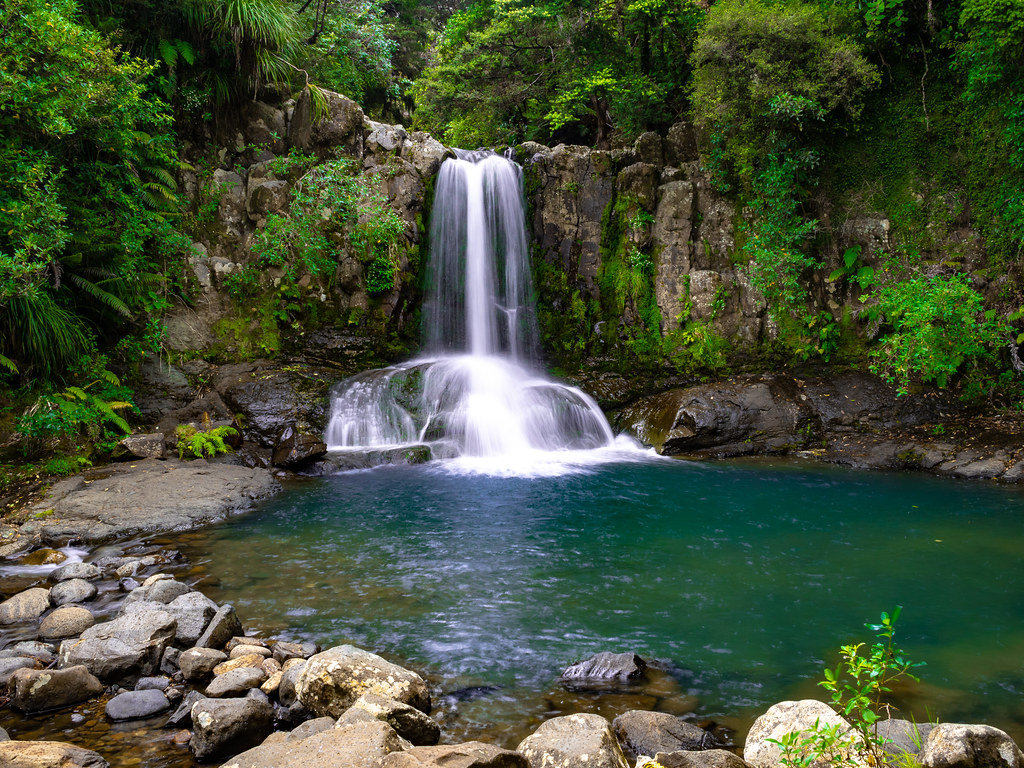 Waiau Falls - one of the most stunning waterfalls in New Zealand