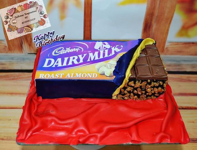 Cake by Poornima Ramesh Bhat of Delicious Temptations 4U