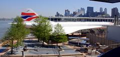 British Airways Concorde , Intrepid Sea, Air and Space Museum, New York.