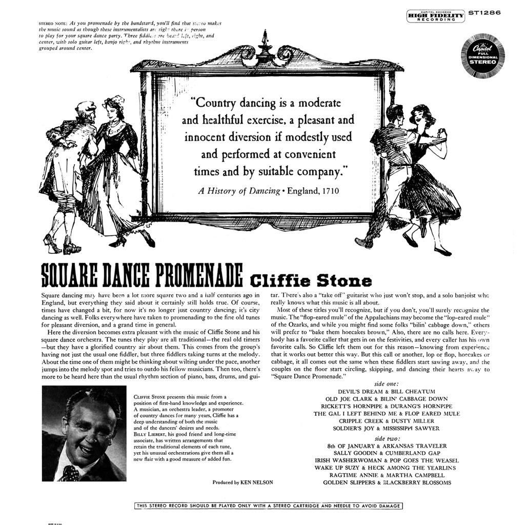 Cliffie Stone - Square Dance Promenade