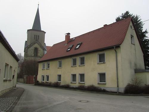 20110316 0203 234 Jakobus Hausfassade Kirche Turm