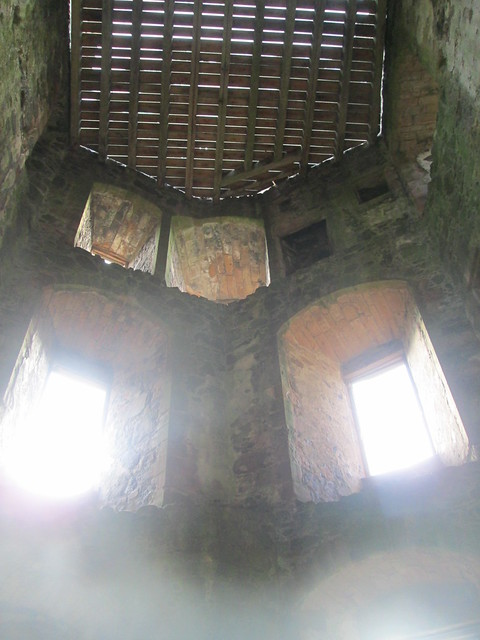 Huntly Castle Windows