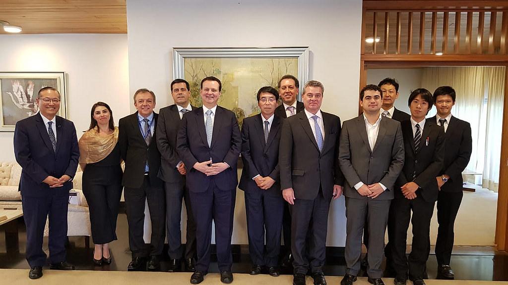 25/09/2018. Brasília-DF. Reunião com o Embaixador do Japão no Brasil, Akira Yamada. Fotos: MCTIC/Divulgação.