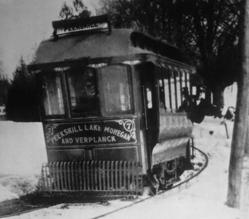 Peekskill Trolley 1910
