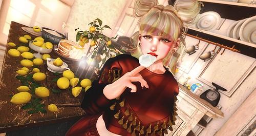 051. I love lemon cream 💛