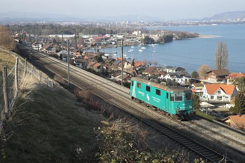 Re 430 114 Synopsis (ex-Crossrail) . Einigen . 25.01.19.