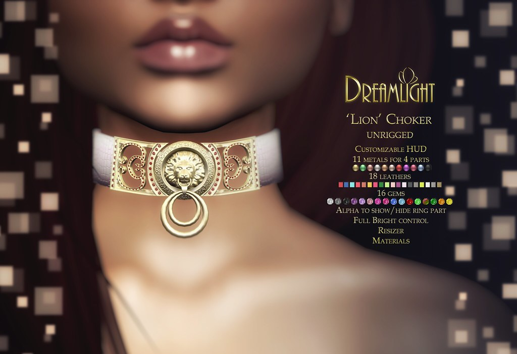 "Dreamlight – ""Lion"" Choker / Ace Event"