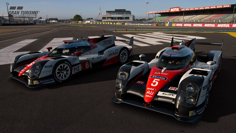 GT Sport Toyota LMP1
