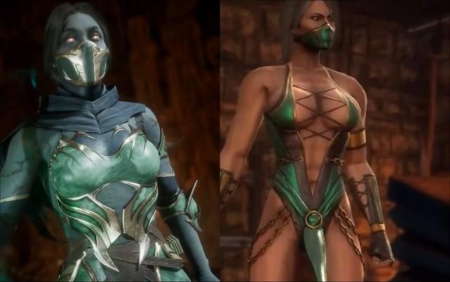 Mortal Kombat 11 Jade εναντίον Mortal Kombat 9 Jade