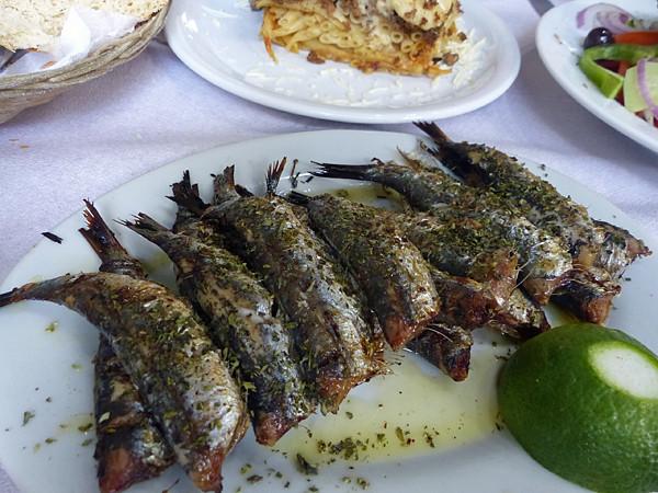 sardines au Pirée