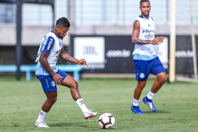 Treino Grêmio 28/02/19