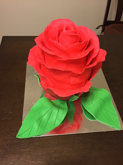 Rose Cake by Shilpa Matade