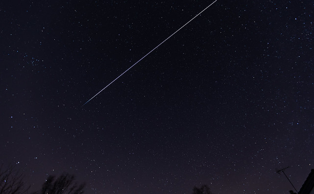 ISS + Dragon March 7