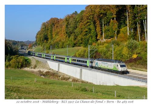 Re 465 008 BLS - Mühleberg