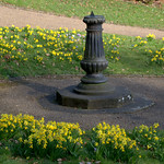 Sundial at Miller Park, Preston