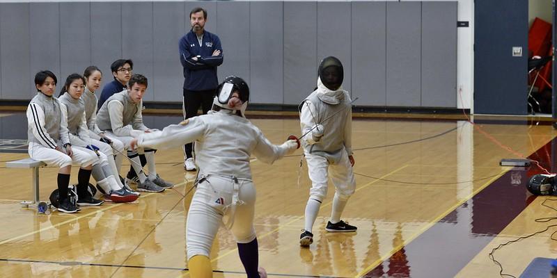 Varsity Fencing vs. Galileo, March 21, 2019