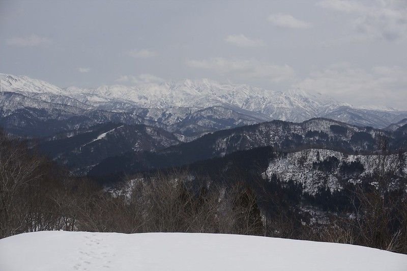 Hakusan mountain ranges