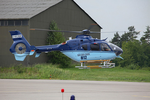 D-HCBR, Airbus Helicopter H135 for Policia Federal Argentina @ Manching ETSI