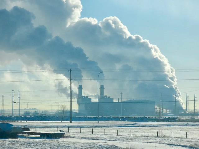 Shepard Energy Centre, Calgary, -20 C