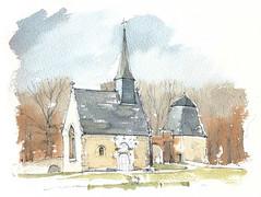 Château de Bourgon, Mayenne, France