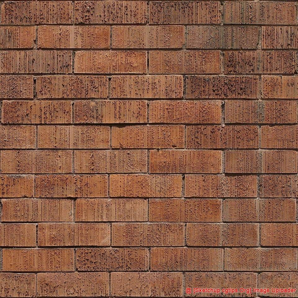 1843 Brick Texture Sketchup Model Free Download